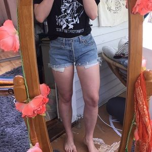 Vintage Levi's Cut Off High Waisted Shorts